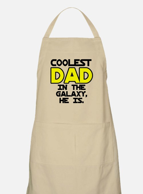 Coolest Dad Galaxy He Is Apron
