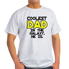 Coolest Dad Galaxy He Is T-Shirt