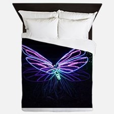 Night Flight Queen Duvet