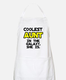 Coolest Aunt Galaxy She Is Apron