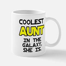 Coolest Aunt Galaxy She Is Mug