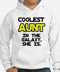 Coolest Aunt Galaxy She Is Hoodie