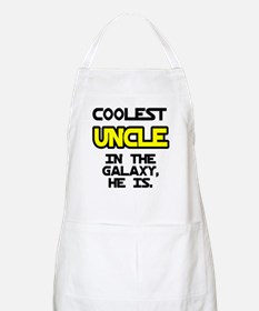 Coolest Uncle In Galaxy He Is Apron