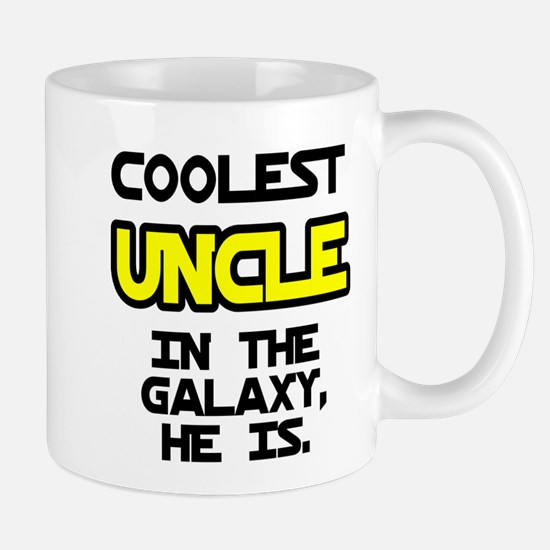 Coolest Uncle In Galaxy He Is Mug