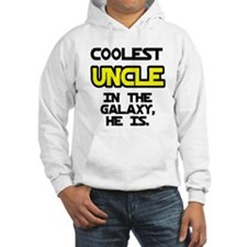 Coolest Uncle In Galaxy He Is Hoodie