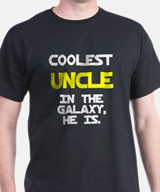 Coolest Uncle In Galaxy He Is T-Shirt