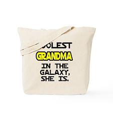 Coolest Grandma Galaxy She Is Tote Bag