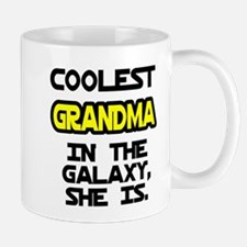 Coolest Grandma Galaxy She Is Mug