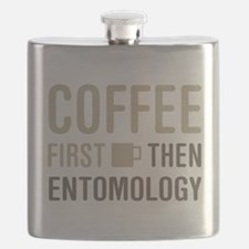 Coffee Then Entomology Flask