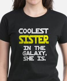 Coolest Sister In Galaxy She Tee