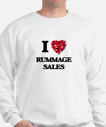 I Love Rummage Sales Sweatshirt