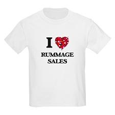 I Love Rummage Sales T-Shirt