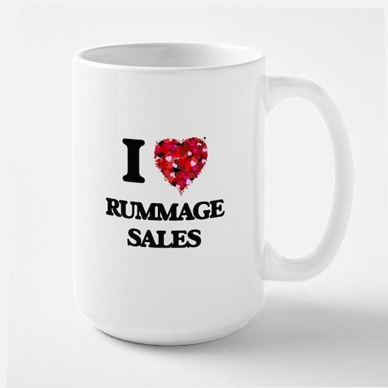 I Love Rummage Sales Mugs