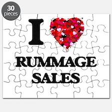 I Love Rummage Sales Puzzle