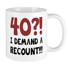 40th Birthday Gag Gift Mug