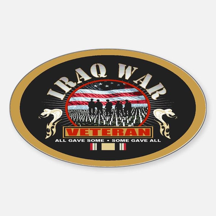 Iraq War Veteran Decal