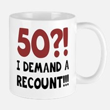 50th Birthday Gag Gift Mug