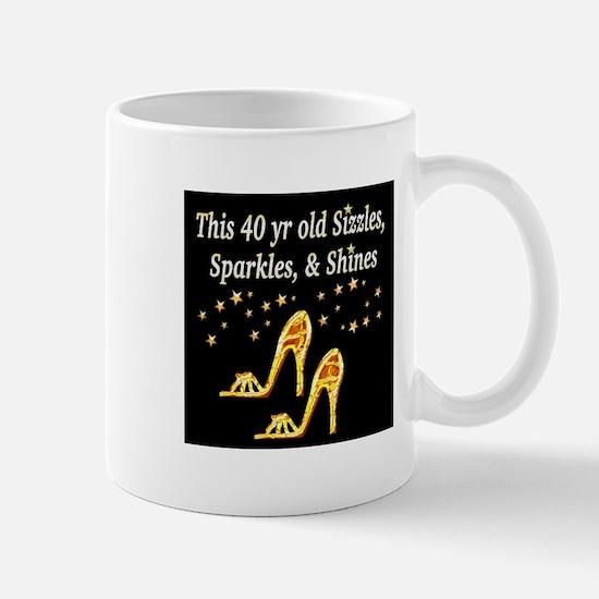 40 AND GLAMOROUS Mug