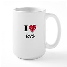 I Love Rvs Mugs