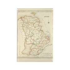 County Antrim Ireland- Rectangle Magnet Magnets