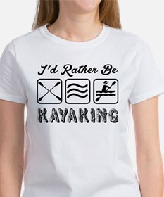 Id Rather Be Kayaking T-Shirt