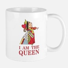"""The Queen of Hearts says, """"I am the Que Mug"""