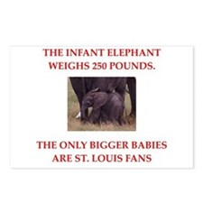 st louis fans Postcards (Package of 8)