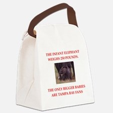 tampa bay Canvas Lunch Bag
