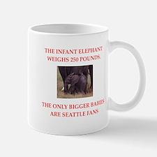 seattle fans Mugs