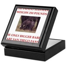 san diego fans Keepsake Box