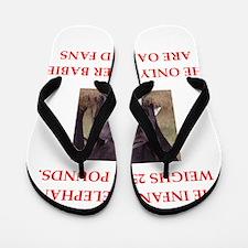 oakland fans Flip Flops