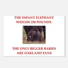 oakland fans Postcards (Package of 8)