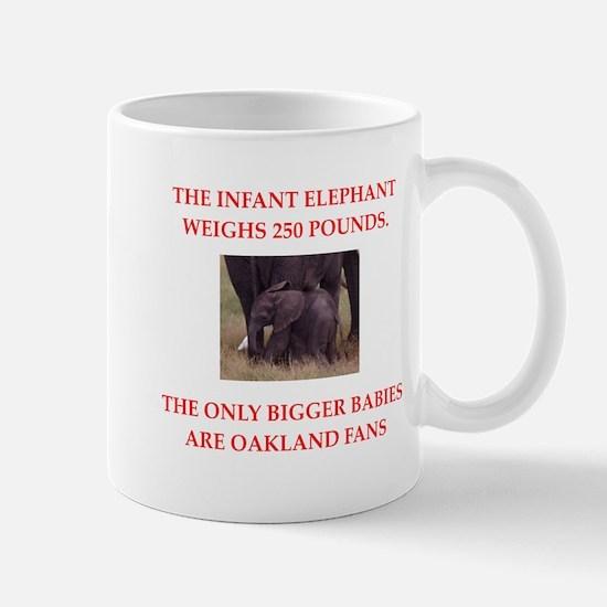 oakland fans Mugs