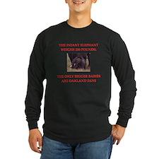 oakland fans Long Sleeve T-Shirt