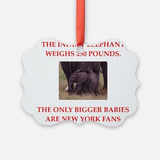 new york fans Ornament