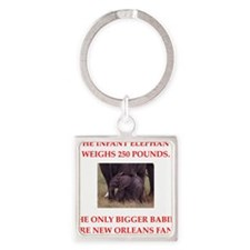 new orleans fans Keychains