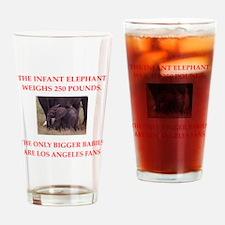 funny fan joke Drinking Glass