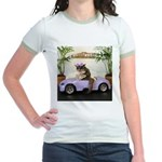 Car Jr. Ringer T-Shirt