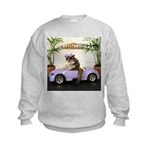Car Kids Sweatshirt