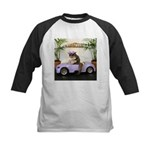 Car Kids Baseball Jersey