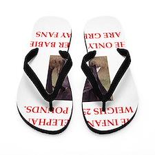 green bay fans Flip Flops