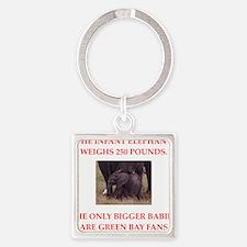 green bay fans Keychains