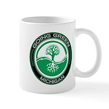 Going Green Michigan (Tree) Mug