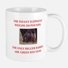 green bay fans Mugs
