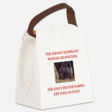 dallas Canvas Lunch Bag