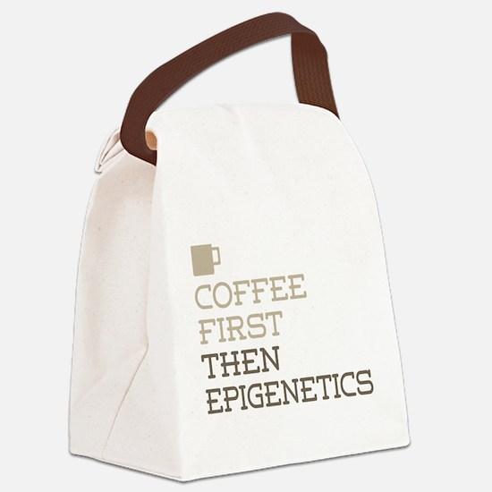 Coffee Then Epigenetics Canvas Lunch Bag
