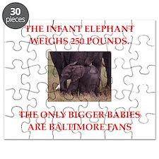 baltimore fans Puzzle