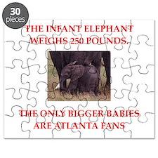atlanta fans Puzzle