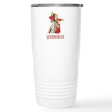 Queens Rule, says the Q Travel Coffee Mug