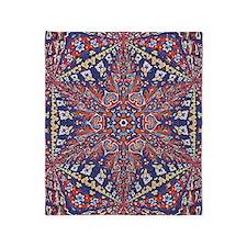 Armenian Carpet Throw Blanket